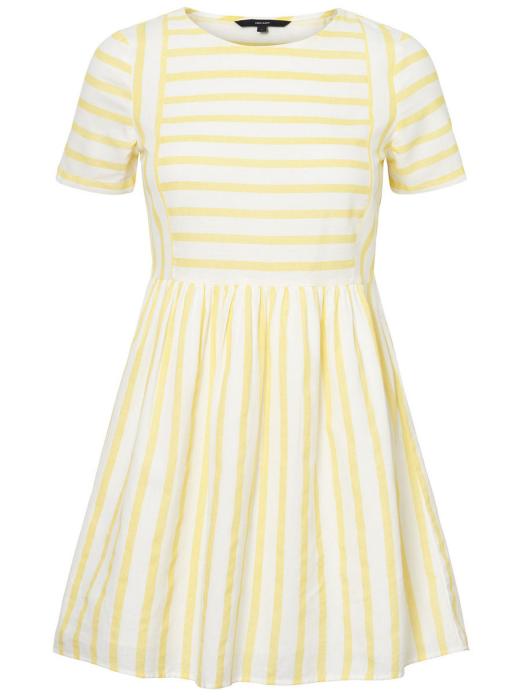 Dress Woman Yellow Vero Moda