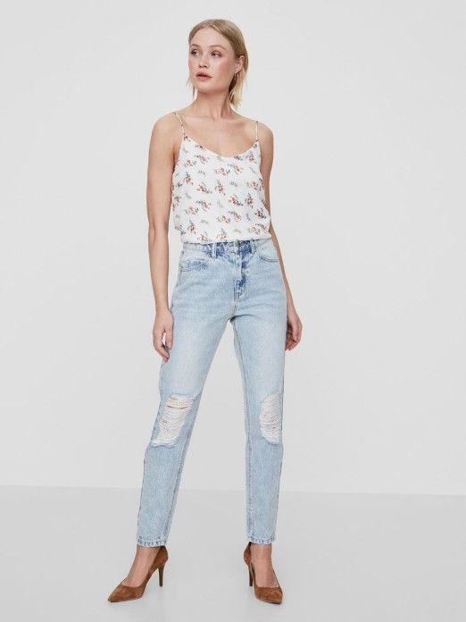 Jeans Mulher Nineteen Vero Moda