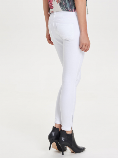 KENDELL REG SK ANKLE JEANS CRE-WHITE