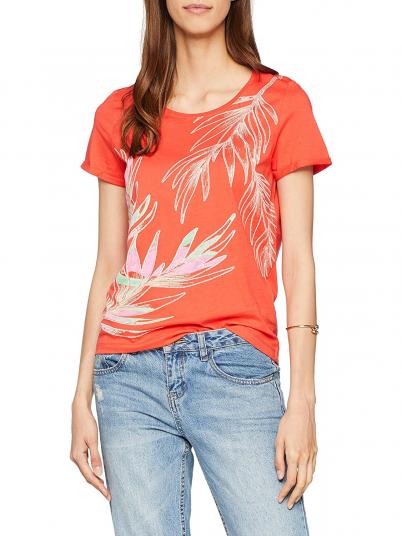 T-Shirt Mulher Flora Vero Moda
