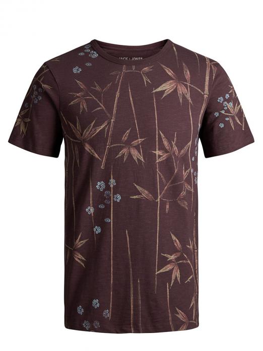 T-Shirt Man Bordeaux Jack & Jones