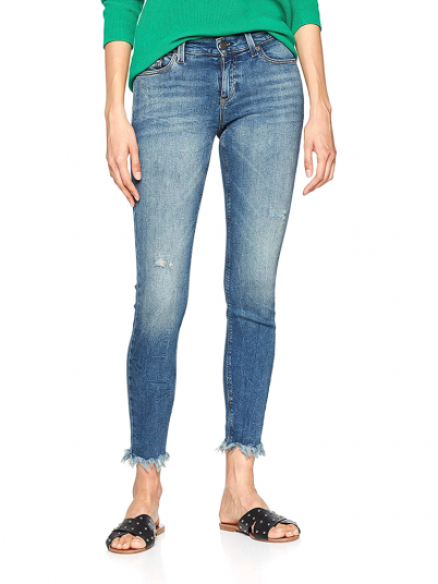 JEANS MULHER MID RISE SKINNY TOMMY HILFIGER
