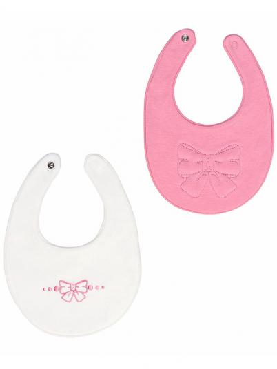 Pack babetes para bebé menina Mayoral