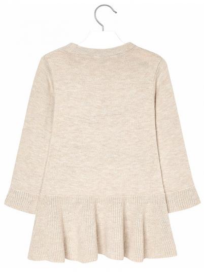 Vestido tricot bordado menina Mayoral