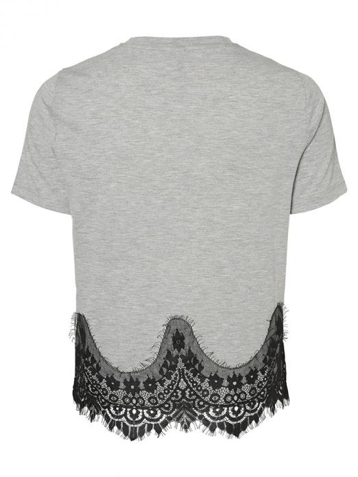 T-Shirt Woman Grey Vero Moda