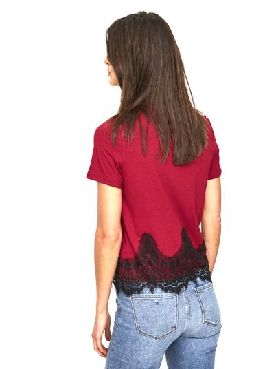 T-Shirt Mulher Four Vero Moda