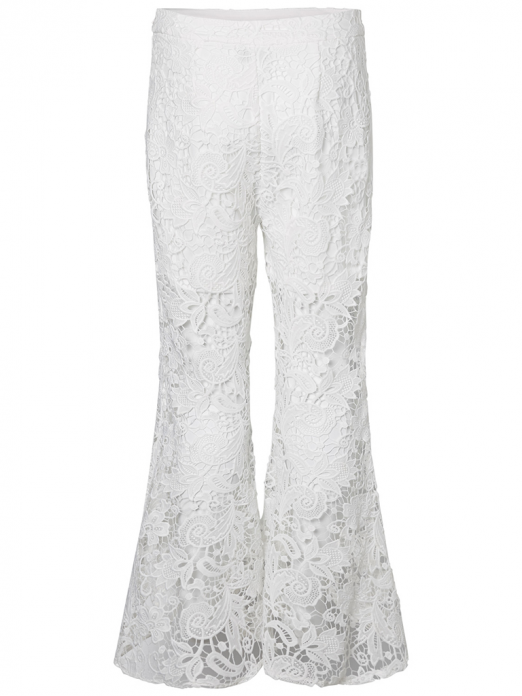 Pants Woman Cream Vero Moda