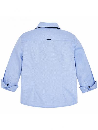 Camisa com laço para menino Mayoral