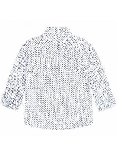 Camisa micro estampada para menino Mayoral
