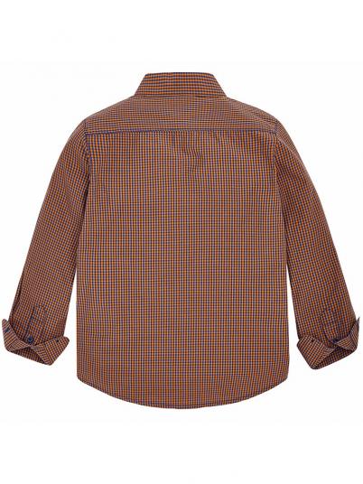 Camisa vichy para menino Mayral