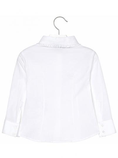 Camisa Niña Crema Mayoral
