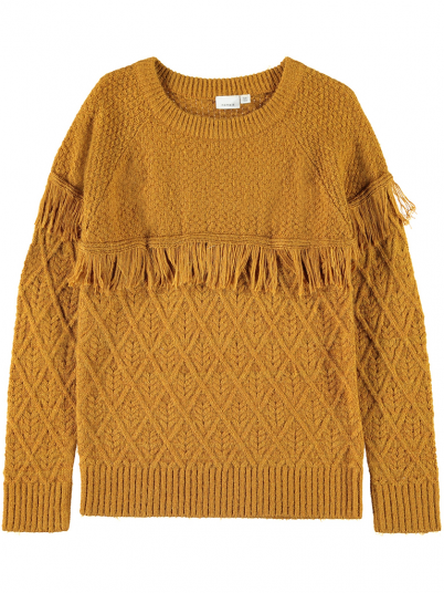 Knitwear Girl Mustard Name It