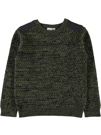 Knitwear Boy Dark Green Name It