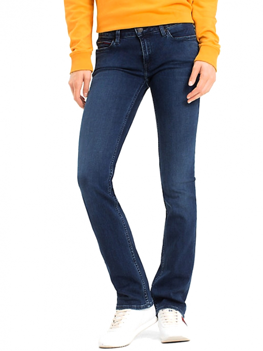 JEANS MULHER MID RISE TOMMY HILFIGER