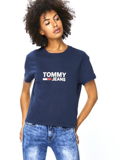 T-SHIRT MULHER FLAG TOMMY HILFIGER