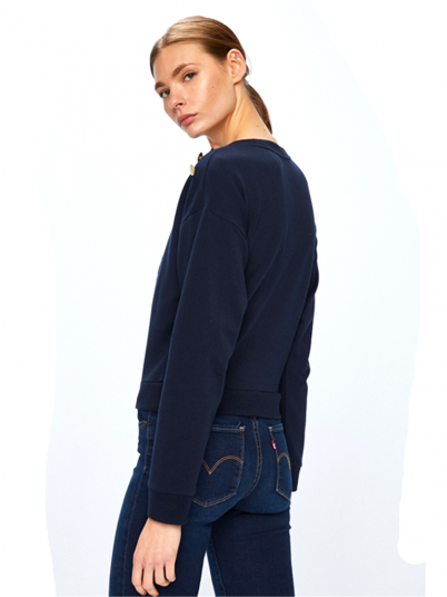 SWEATSHIRT MULHER CROPPED GUESS