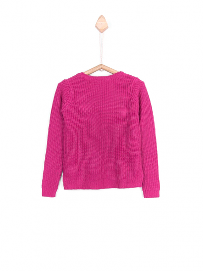 Sweatshirt Girl Rosa Fuchsia Tiffosi Kids