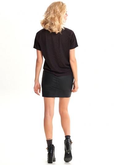 T-Shirt Woman Dark Brown Only