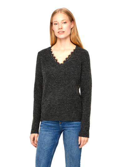 Knitwear Woman Dark Grey Vero Moda