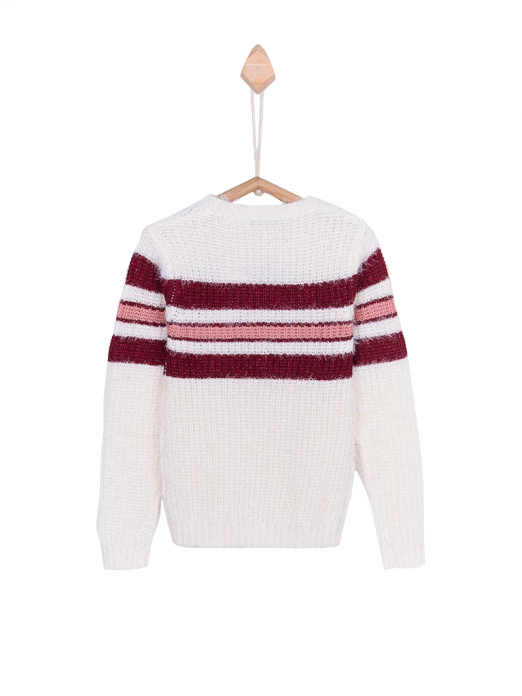 Knitwear Girl Cream Tiffosi Kids