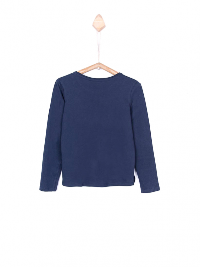 Sweatshirt Girl Navy Blue Tiffosi Kids