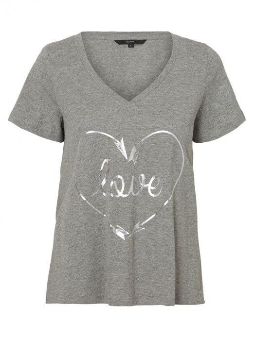 T-Shirt Mulher Wista Vero Moda