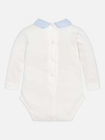 Body exterior gola camisa para bebé menino Mayoral
