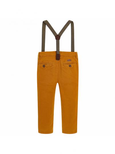 Calça suspensórios para menino Slim fit Mayoral