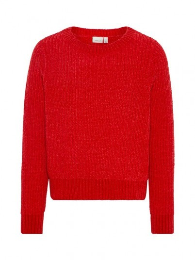 Knitwear Girl Red Name It