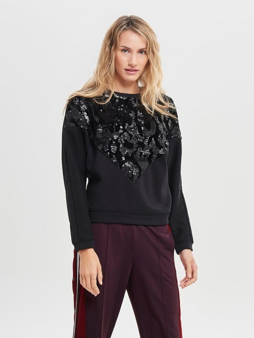 SWEATSHIRT MULHER KELLY ONLY