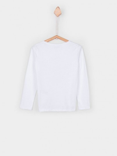 Sweatshirt Niña Blanco Tiffosi Kids