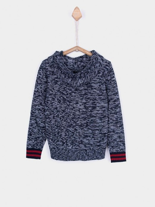 Knitwear Boy Dark Blue Tiffosi Kids