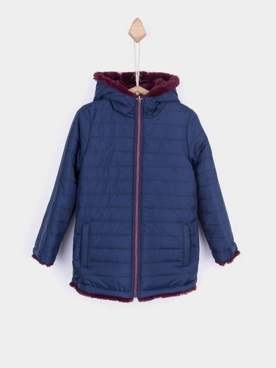 Jacket Girl Navy Blue Tiffosi Kids