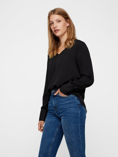 Shirt Woman Black Vero Moda