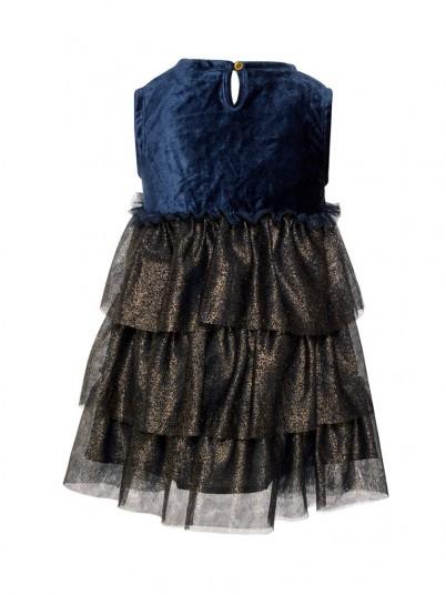 Vestido Niña Azul Oscuro Name It
