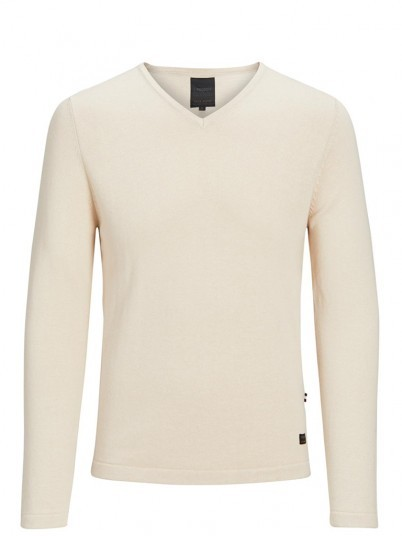 Knitwear Men Beige Produkt 12130685