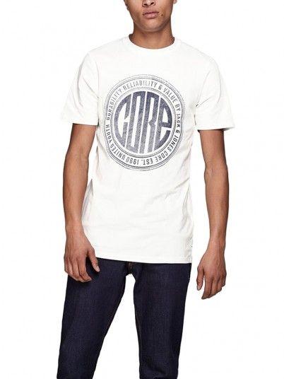 T-Shirt Homem Pressure Jack Jones