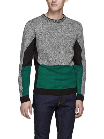 Knitwear Men Black Jack & Jones 12147099