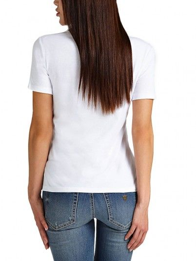 T-SHIRT MULHER STONE&BEAD GUESS