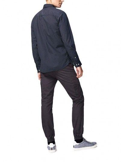 Camisas Hombre Azul Marino Produkt 12141880