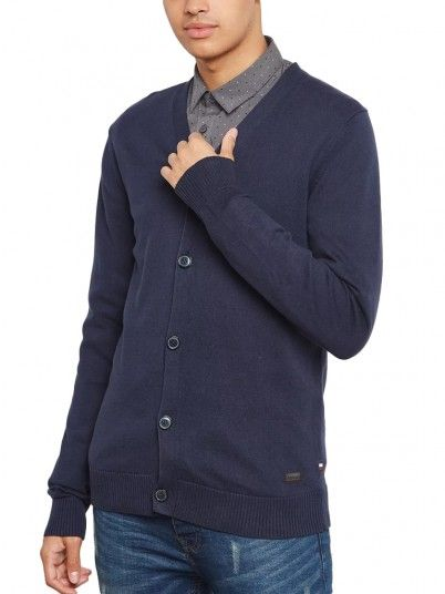 Jackets Men Navy Blue Produkt 12142301