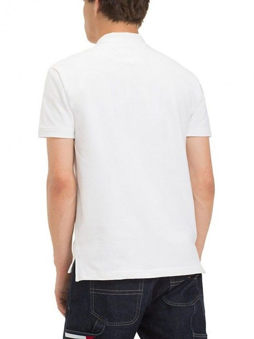 Polo Shirt Man White Tommy Jeans