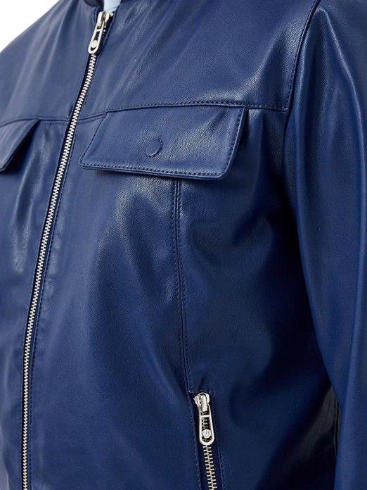 8c68857cf Jackets Men Dark Blue Trussardi 52S00292