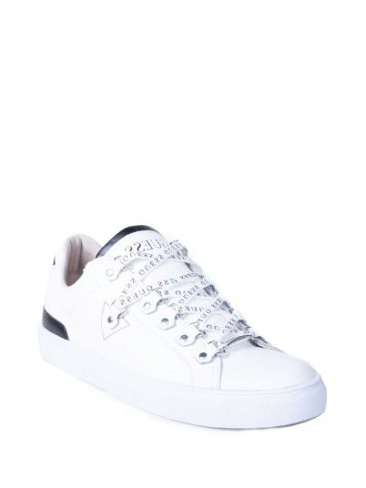 Sneaker Men White Guess FM5BARLEA12