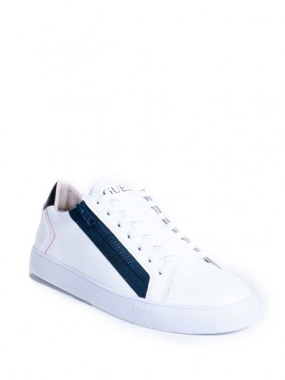 Sneaker Men White Guess FM5LLOLEA12