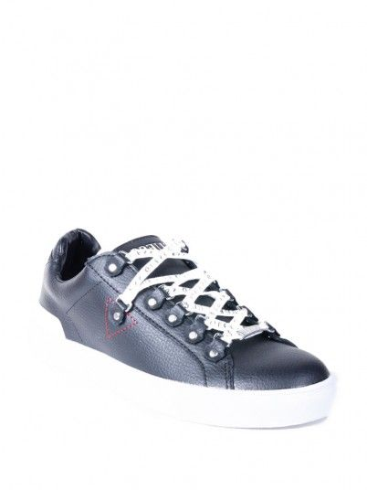 Sneaker Men Black Guess FM5BARLEA12