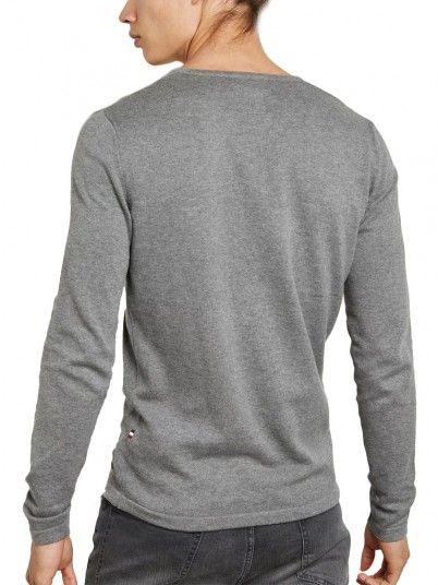 Knitwear Man Grey Produkt