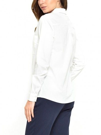 Shirt Woman Cream Vila