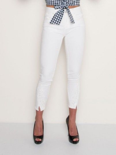 Pants Woman Cream Fracomina