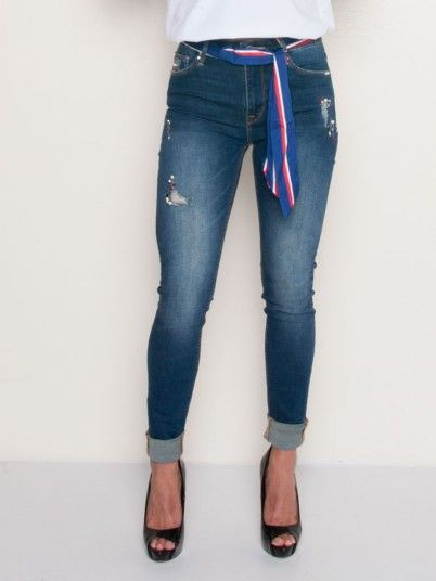 JEANS MULHER FRACOMINA ... b0976c6521d